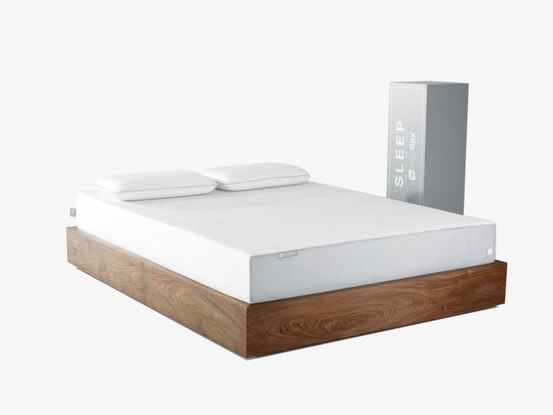 The Eroglfex memory foam mattress and box