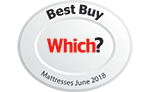 Ergoflex Memory Foam Mattress awarded a Which? Best Buy