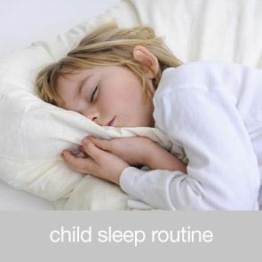 Child Sleep Routines