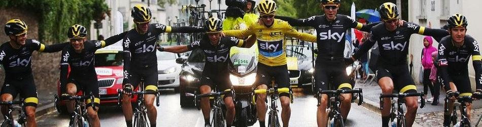 Record-Breaking Froome Takes 2nd Tour de France Title